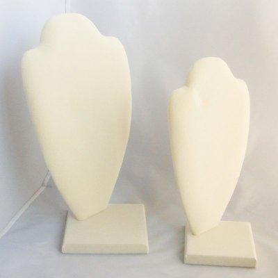 画像1: 組み立て式 トルソー アイボリー (Lサイズ)