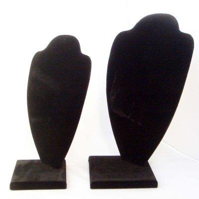 画像1: 組み立て式 トルソー ブラック (Lサイズ)