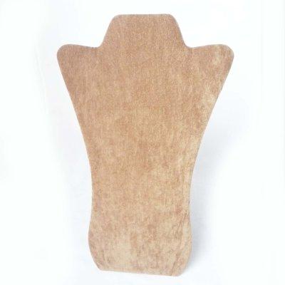 画像2: 折りたたみトルソー  ライトブラウン (トールタイプ)