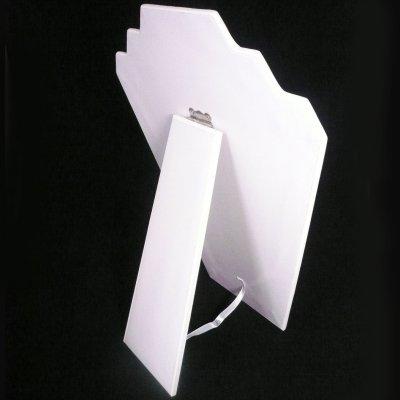 画像2: 折りたたみトルソー(段差付) ホワイト