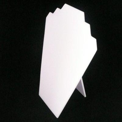 画像1: 折りたたみトルソー(段差付) ホワイト
