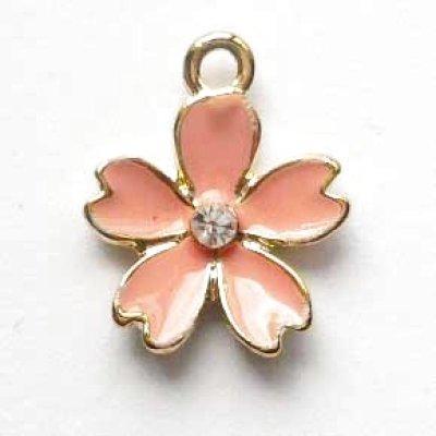 画像1: 桜のチャーム ピンク