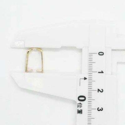 画像3: ダブルRS付U字型バチカン ゴールド